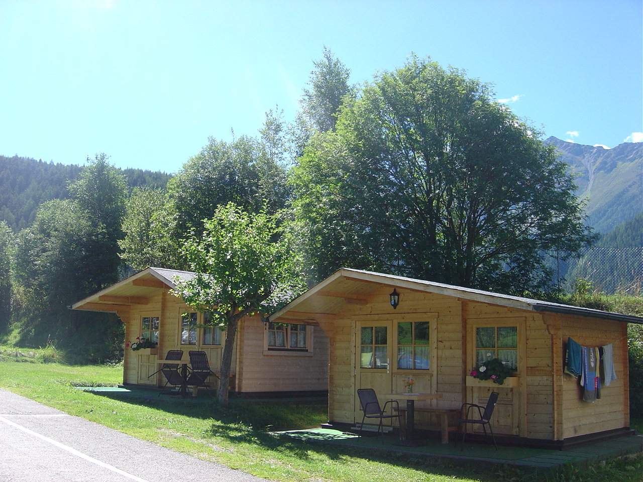Holzhütten Ötztal GLamping