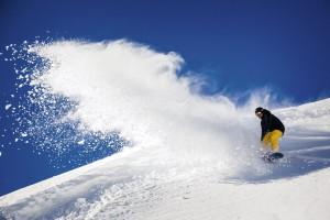 Snowboarden im Ötztal